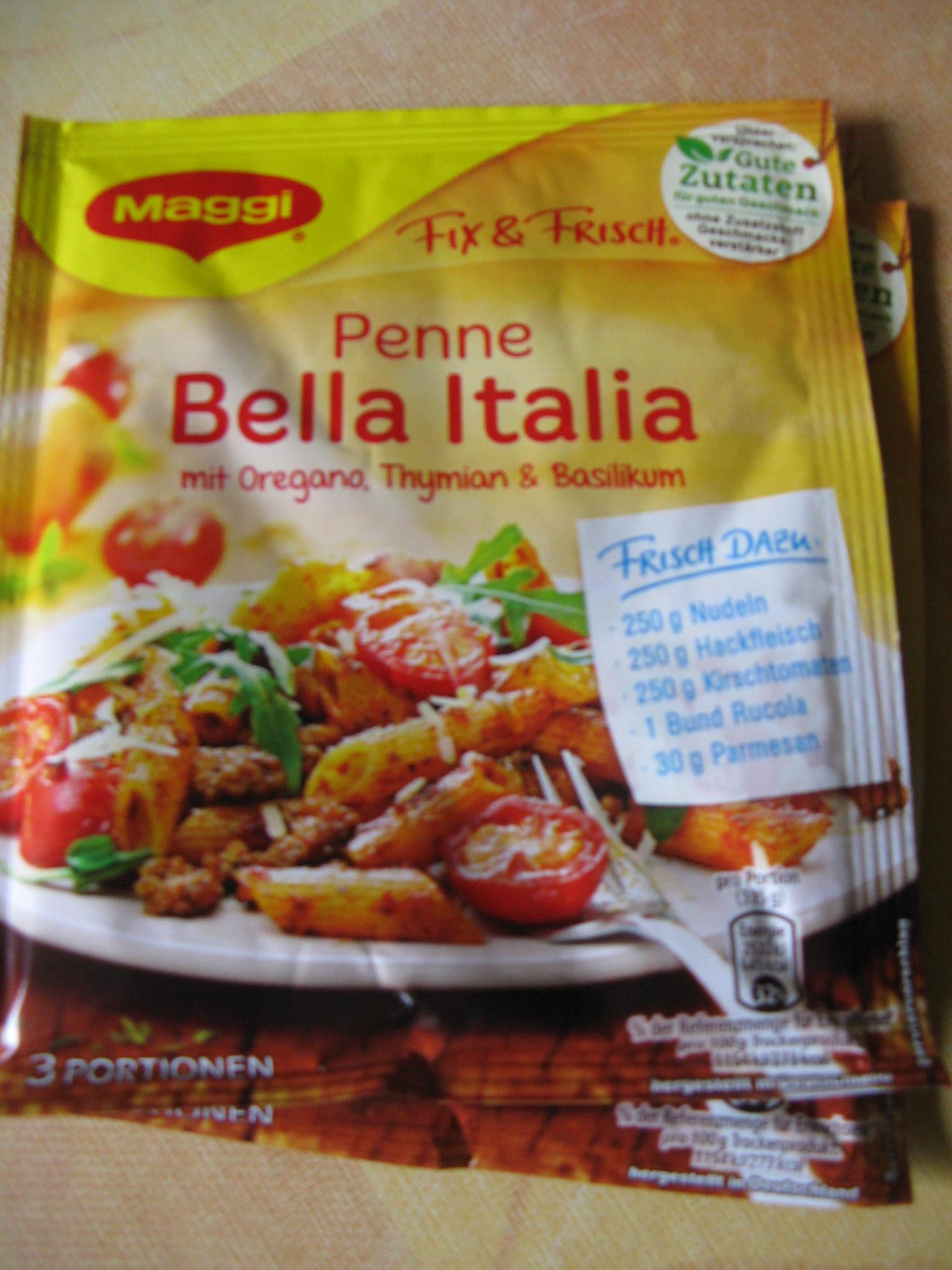 Die neue Maggi Qualität Fix & Frisch Bella Italia