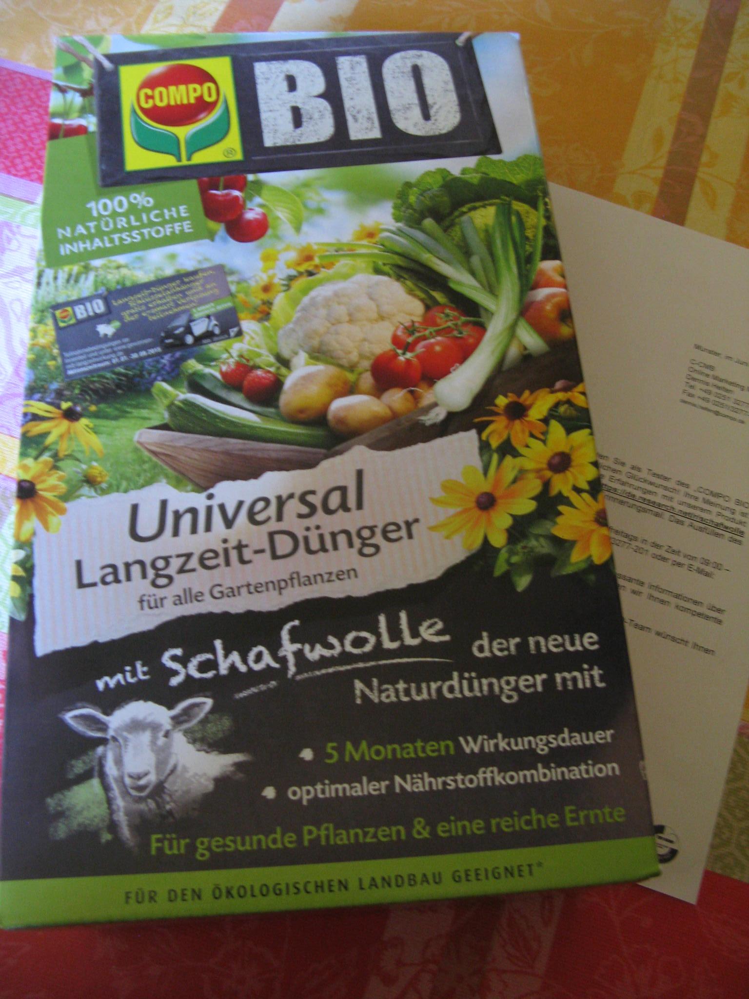 Compo Bio Universal Langzeit- Dünger