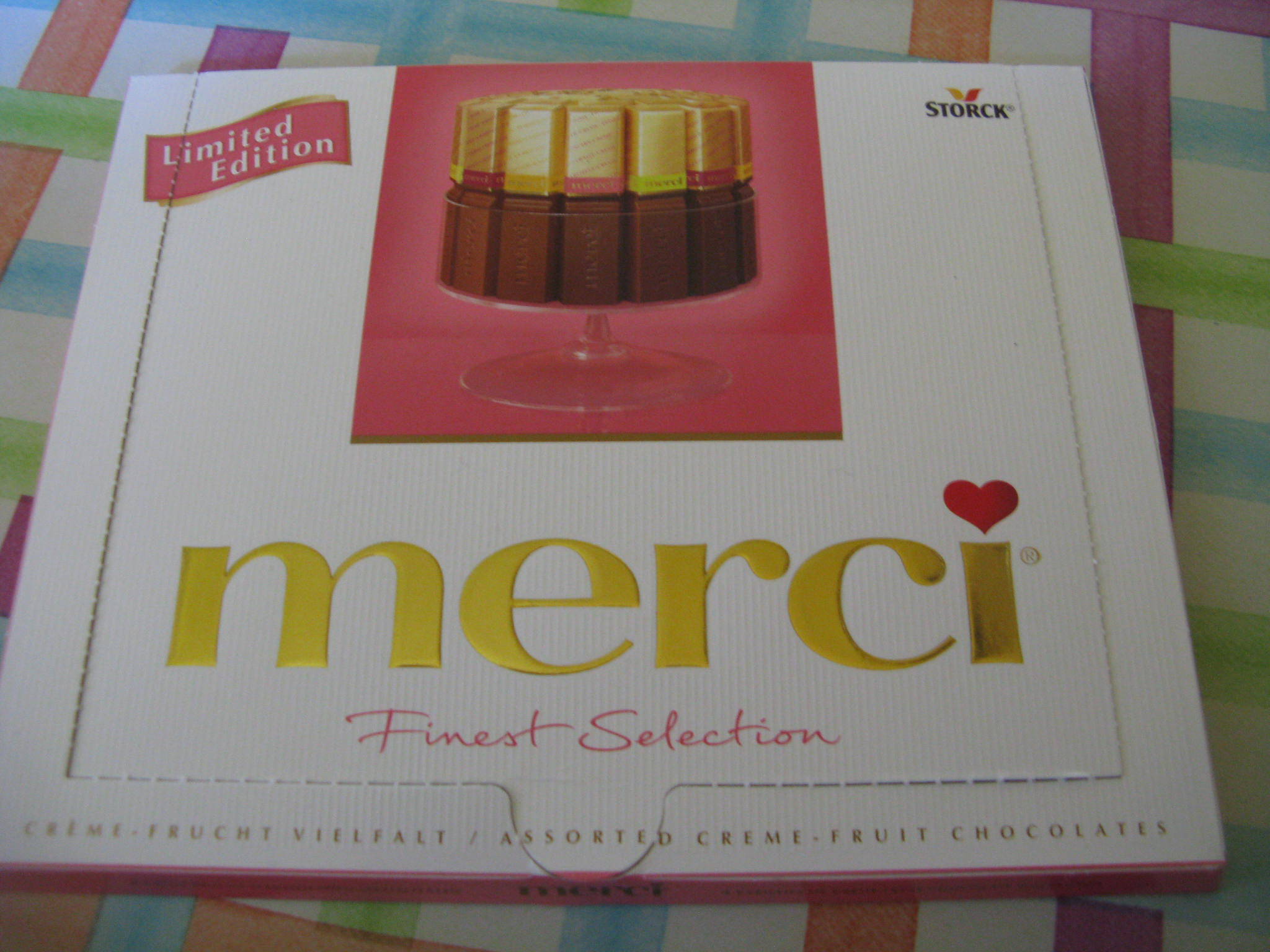 Merci Limited Edition Finest Selection Pink