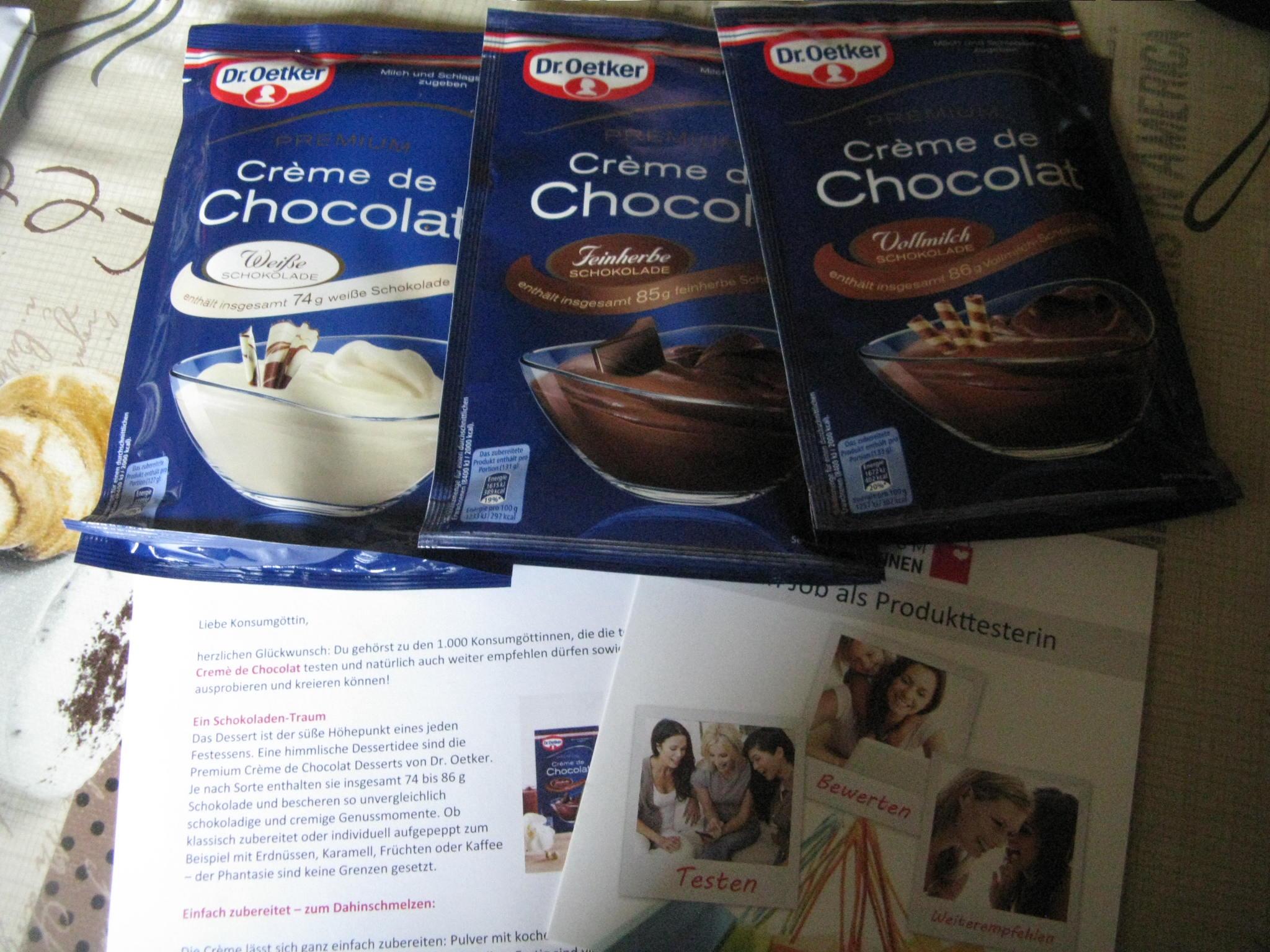 Dr.Oetker Premium Cremé de Chocolat