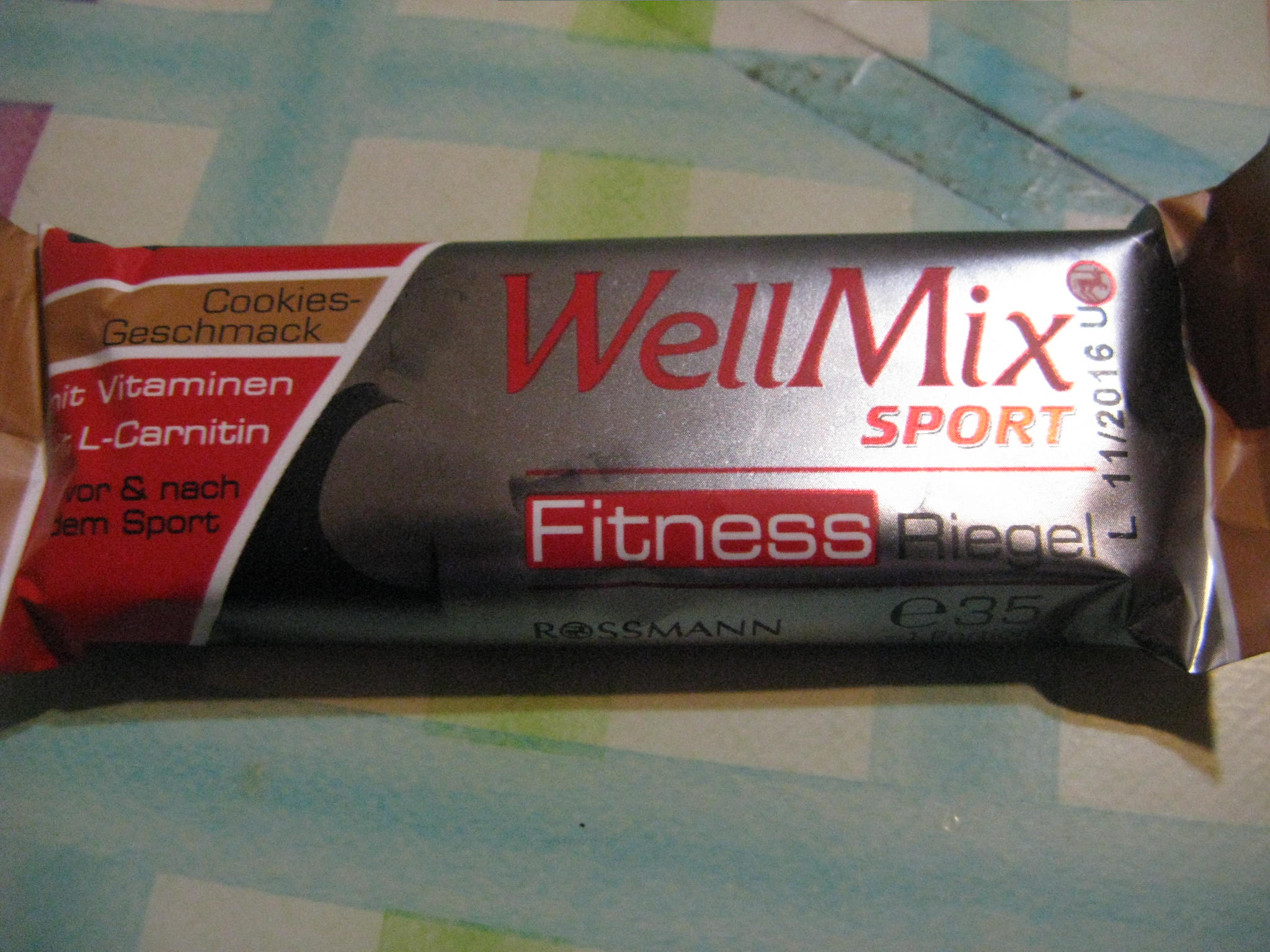Well MIx Sport Fitness Riegel
