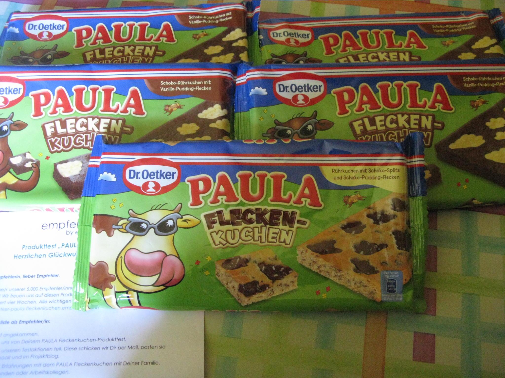 Paula Fleckenkuchen von Dr.Oetker