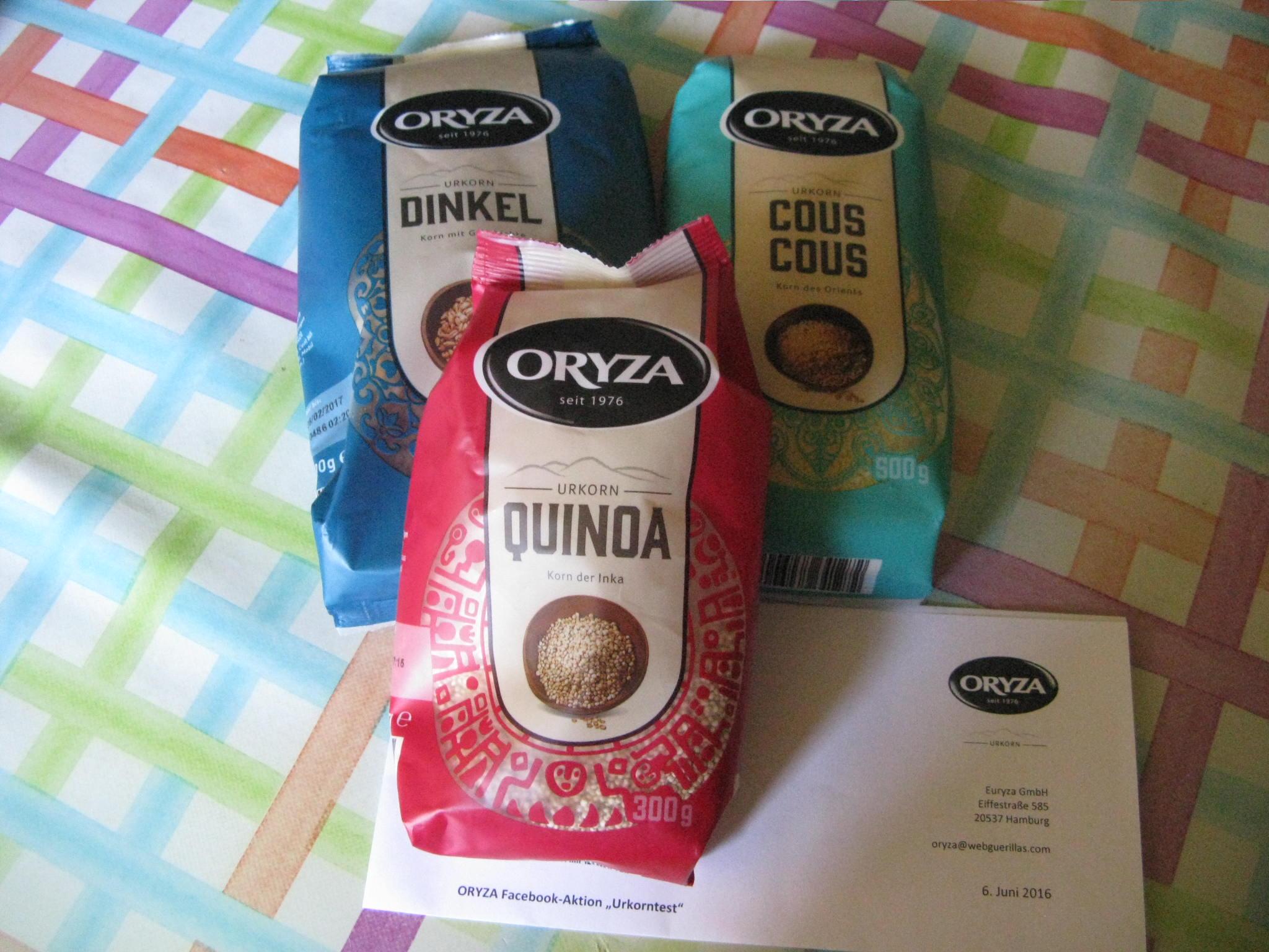 Quinoa Urkorn von Oryza