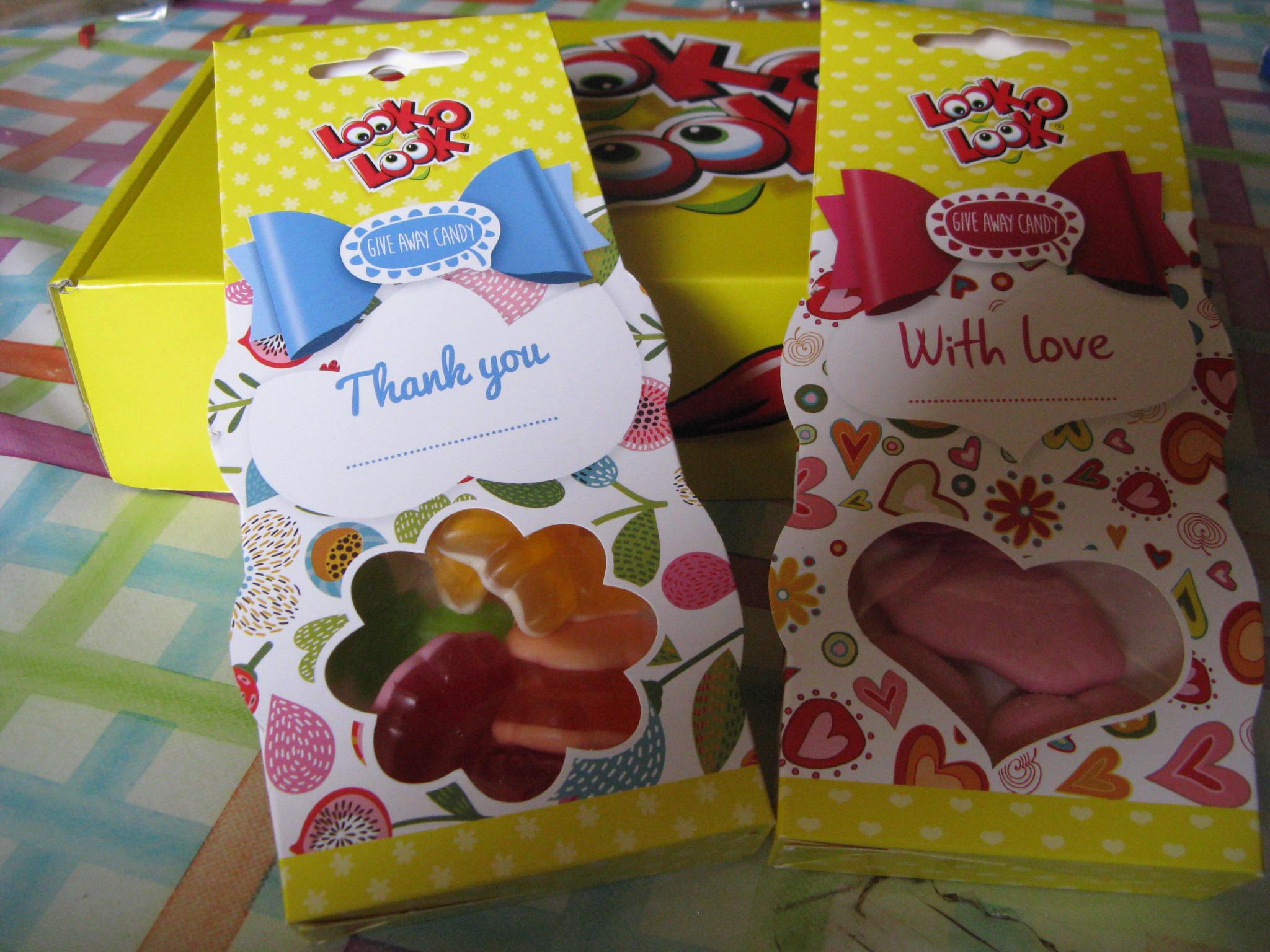 Give Away Candy Präsente von Look-o-Look