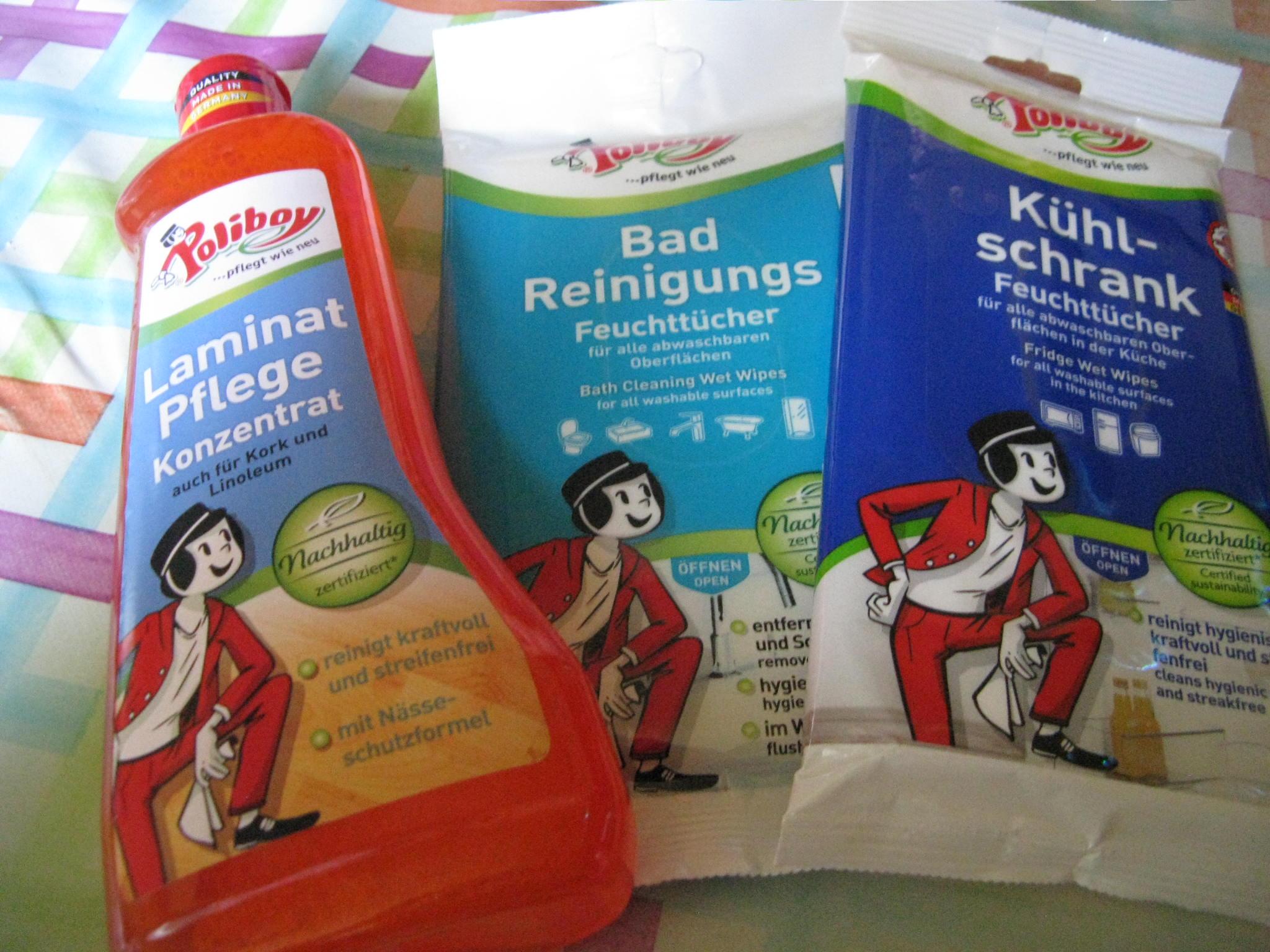 Poliboy Feuchttücher Küche/Bad und Laminat Konzentrat
