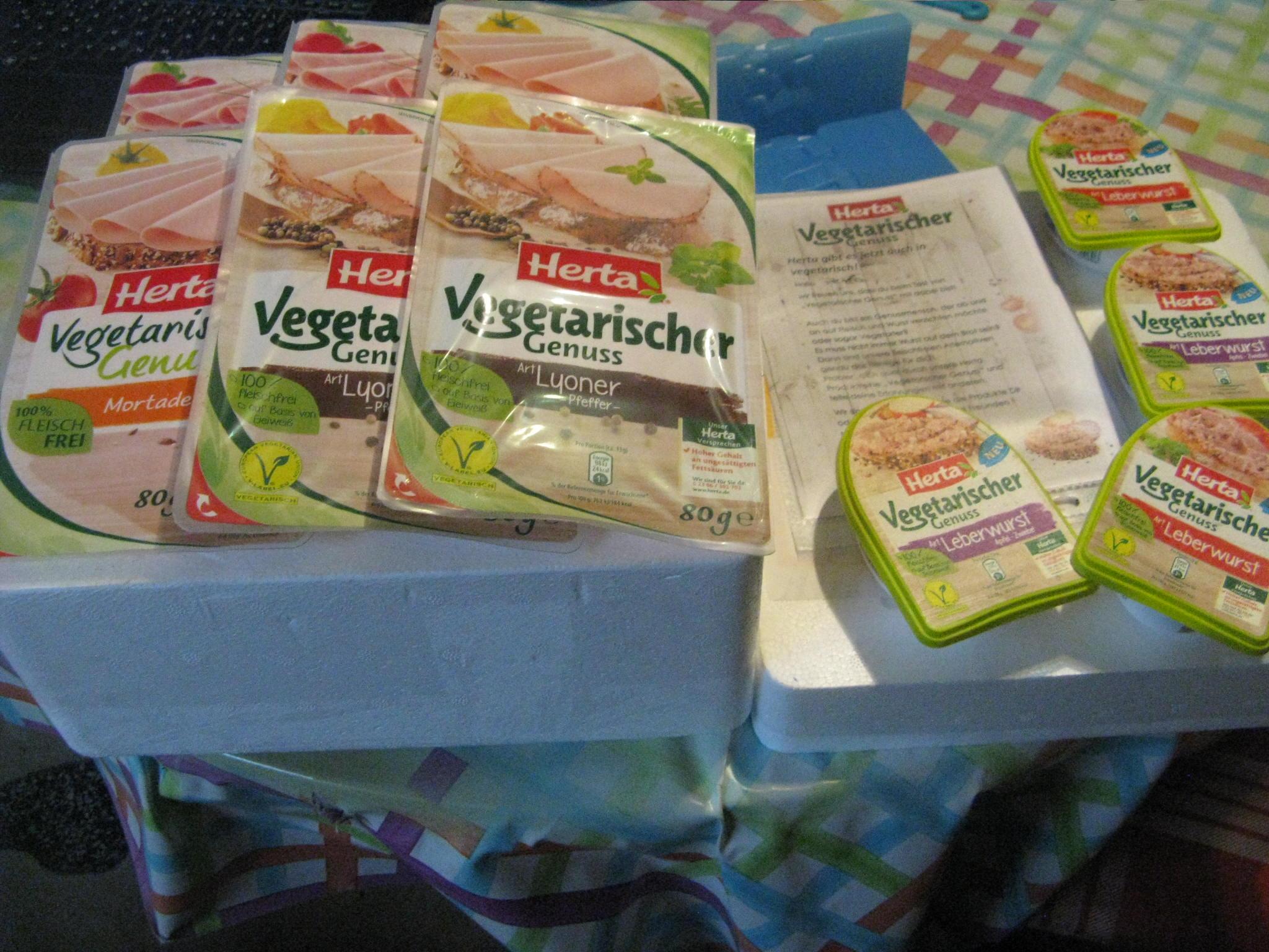 Vegetarischer Genuss von Herta