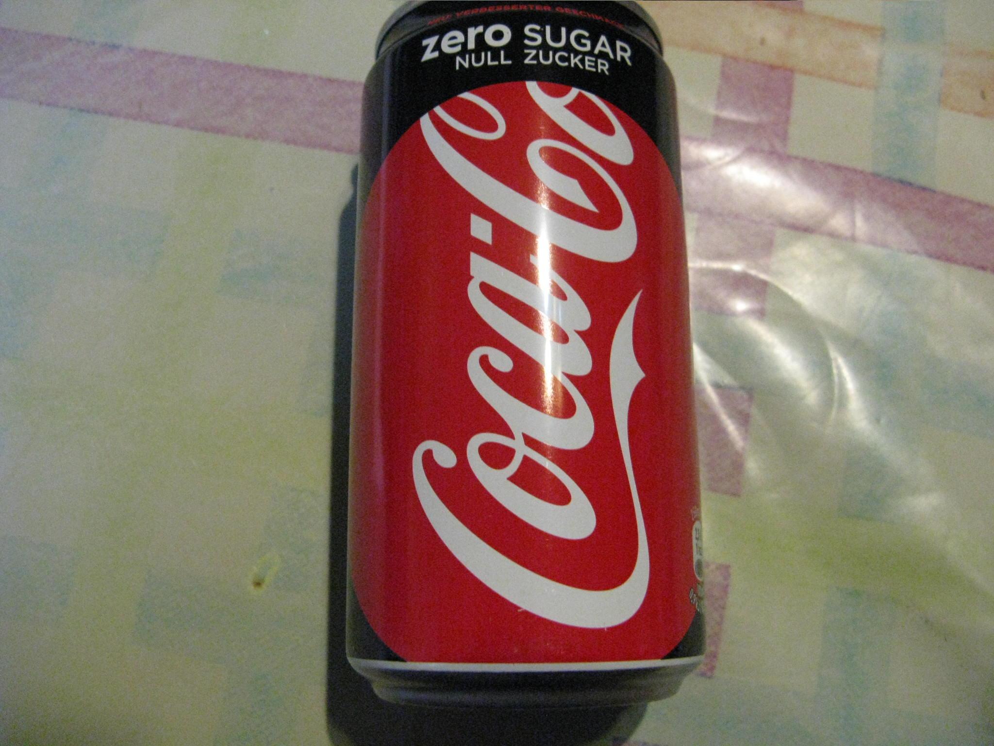 Coca-Cola Zero Sugar - Null Zucker