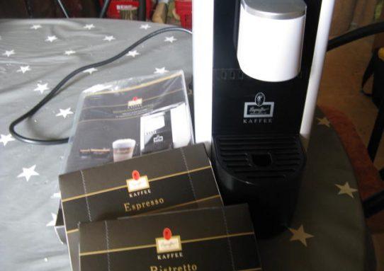 Leysieffer Kaffee Kapselmaschine mit innovativem Milchschaumsystem