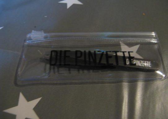 DIE PINZETTE - Die edle Kosmetik Pinzette ( schwarz )