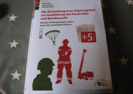 Einstellungstest/ Eignungstest zur Ausbildung bei Feuerwehr und Bundeswehr