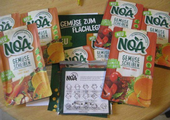 NOA pflanzlich geniessen Gemüsescheiben