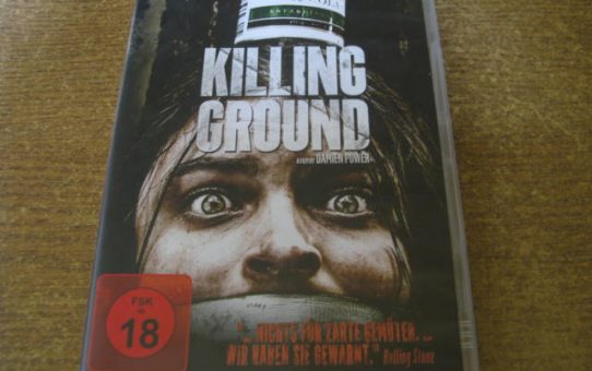 DVD Killing Ground FSK 18