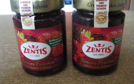 Zentis Sonnen Früchte Erdbeer mit Rosenblüten verfeinert