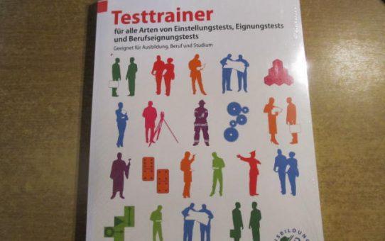Buch Testtrainer für alle Arten von Einstellungstests......