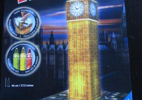 3D Puzzle Big Ben bei Nacht von Ravensburger